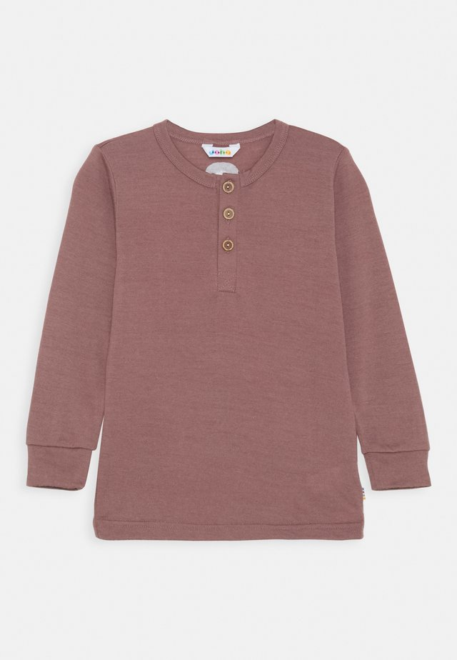 LONG SLEEVES UNISEX - Long sleeved top - berry