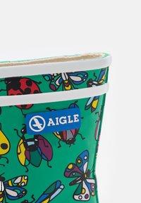 Aigle - BABY FLAC THEME UNISEX - Wellies - green - 5