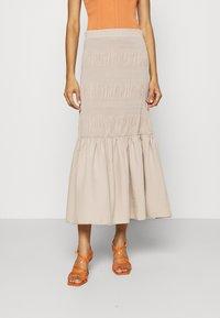 JUST FEMALE - ETIENNE SKIRT - A-line skirt - cobblestone - 0