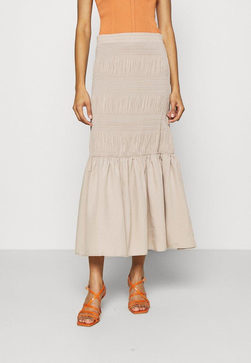 JUST FEMALE - ETIENNE SKIRT - A-line skirt - cobblestone