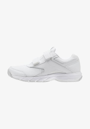 WORK N CUSHION 3.0 - Neutral running shoes - white/steel