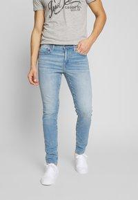 American Eagle - LIGHT WASH - Jeans Skinny Fit - classic medium - 0
