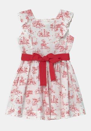 MARISOL FLOWER PRINT  - Cocktail dress / Party dress - marshmallow/terkuit