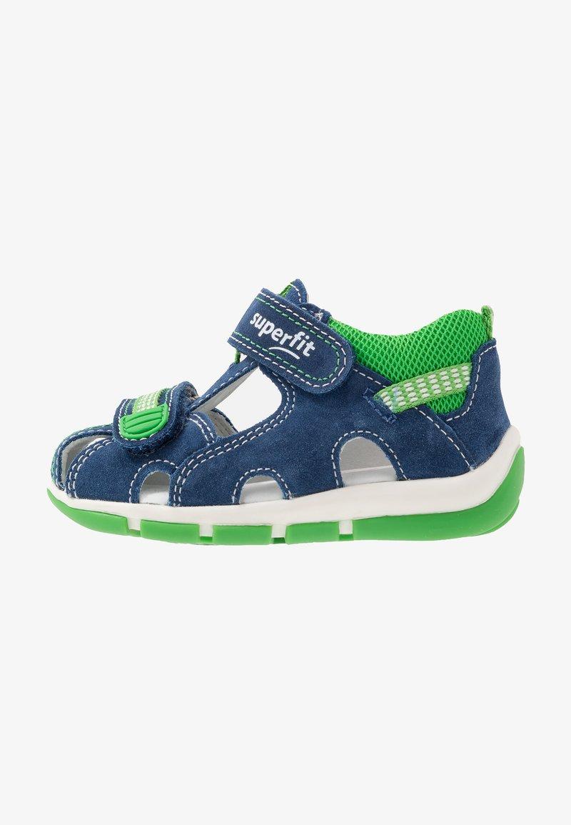 Superfit - FREDDY - Baby shoes - blau