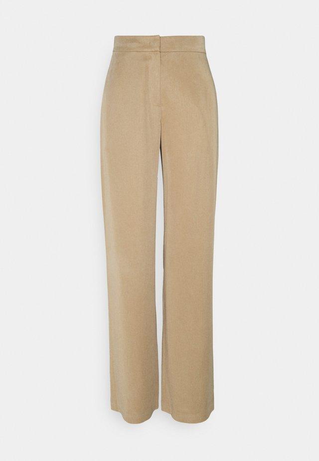 HIBARI - Kalhoty - light beige