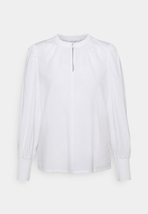 BESS BLOUSE - Long sleeved top - white