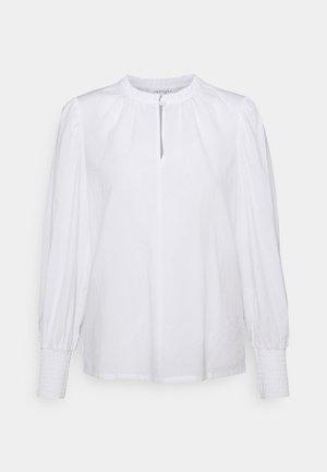 BESS BLOUSE - Top sdlouhým rukávem - white