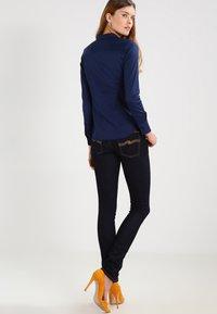 Mos Mosh - TILDA - Button-down blouse - navy - 2