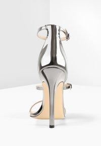 Only Maker - High heeled sandals - silver - 4