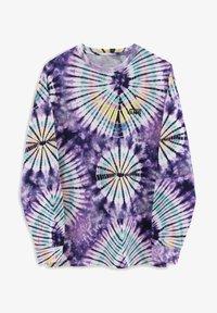 MN VANS BURST TIE DYE LS - Långärmad tröja - english lavender