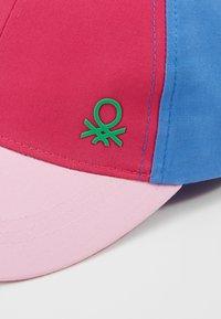 Benetton - WITH VISOR - Gorra - light pink - 2