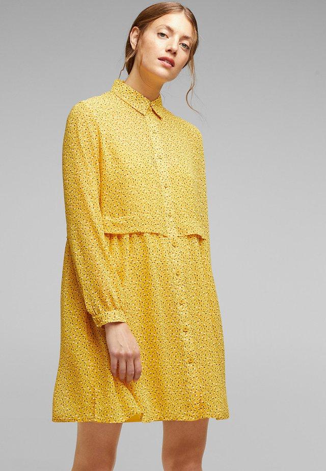 FASHION - Skjortekjole - brass yellow