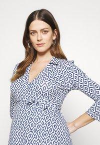 Slacks & Co. - AVA - Jersey dress - aztec blue - 3