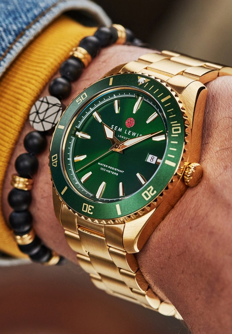 Sem Lewis - Watch - gold