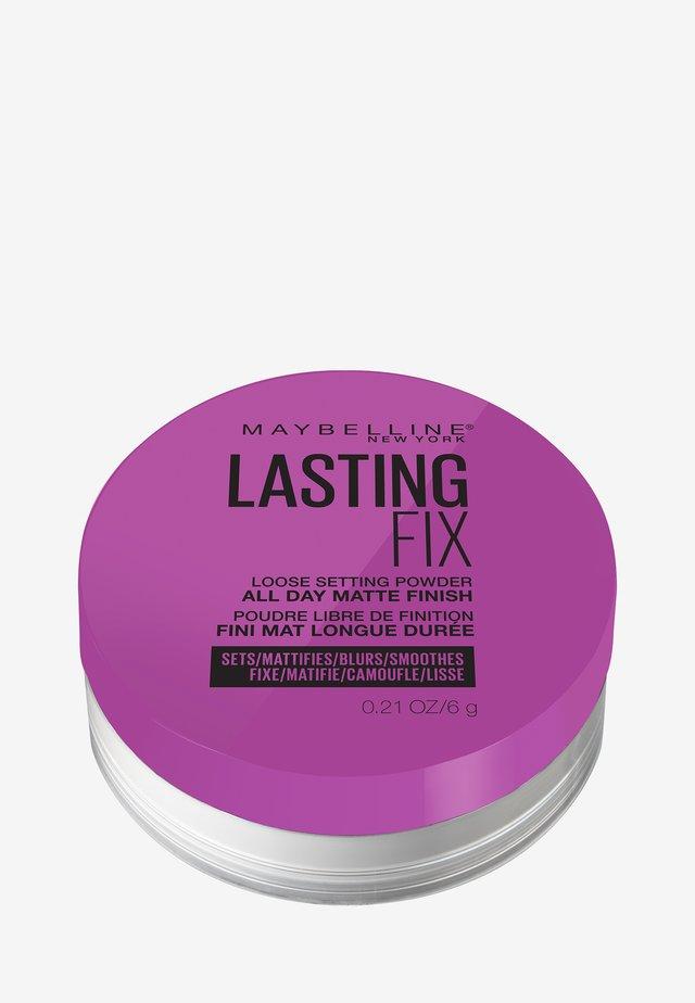 MASTER FIX PUDER - Spray fixant & poudre - translucent
