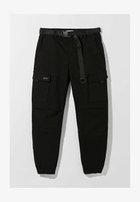 Bershka - Cargo trousers - black - 4