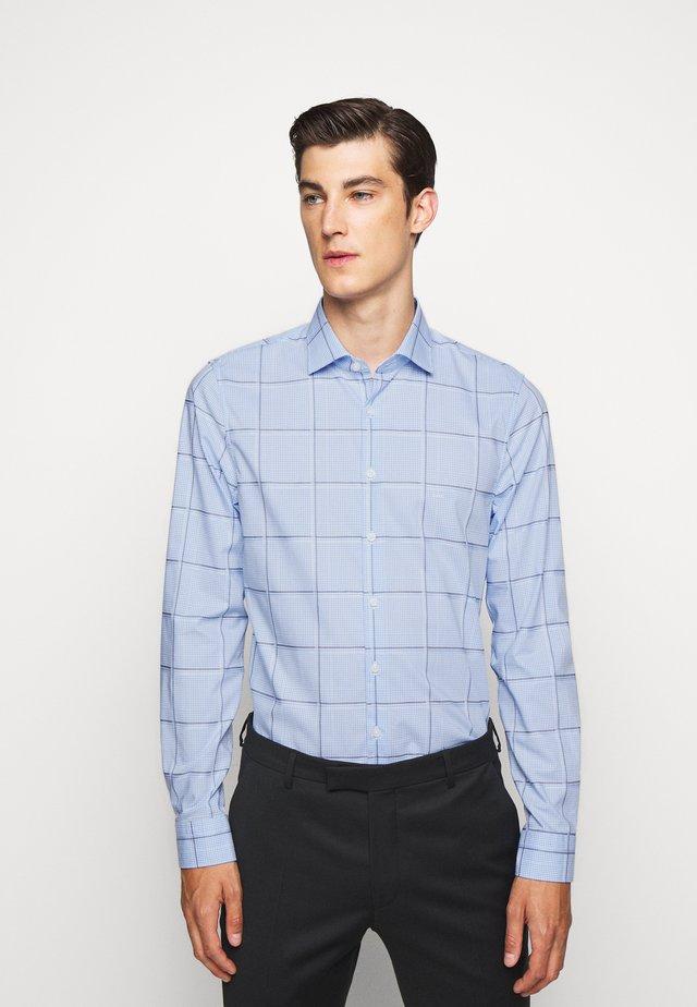 CHECK EASY CARE SLIM  - Finskjorte - light blue