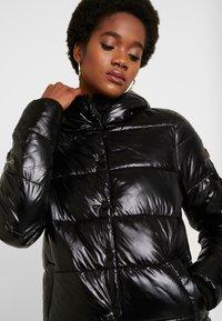 Superdry - HIGH SHINE TOYA PUFFER - Winter jacket - black - 3