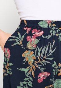 Vero Moda - VMSIMPLY EASY SKIRT - Maxi skirt - navy blazer - 4
