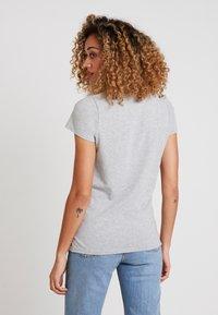 GAP - CREW - T-shirts print - grey heather - 2