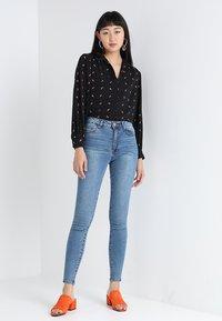 Lost Ink - Jeans Skinny - mid denim - 1