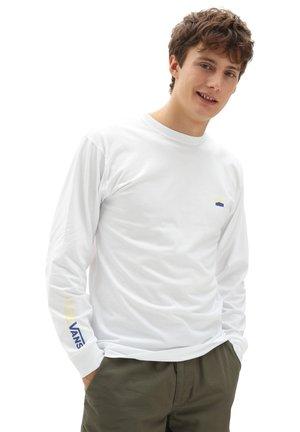 MN ORIGINAL DNA SIDESTRIPE LS - Long sleeved top - white