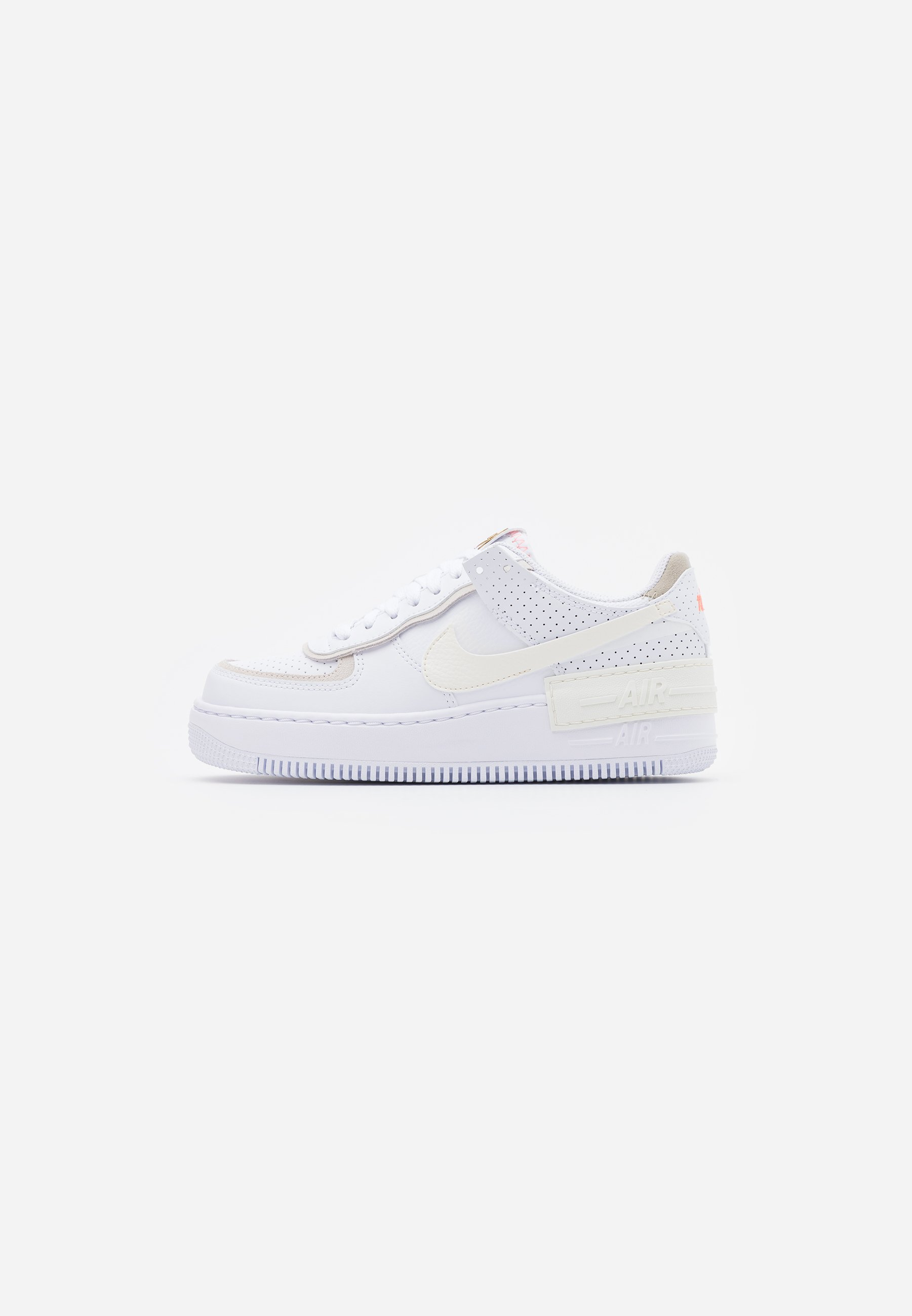 AIR FORCE 1 SHADOW Sneakers whitesailstoneatomic pink