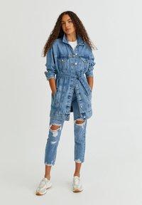 PULL&BEAR - Veste en jean - blue - 6
