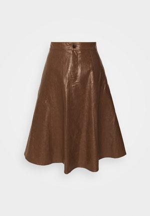 OCTARIA - A-line skirt - braun