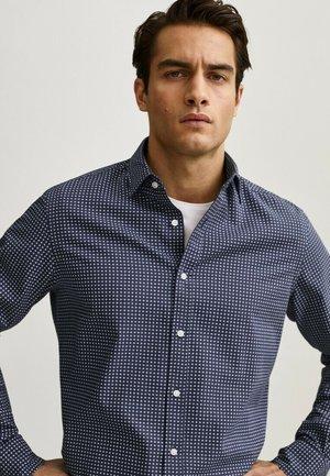Shirt - blue-black denim