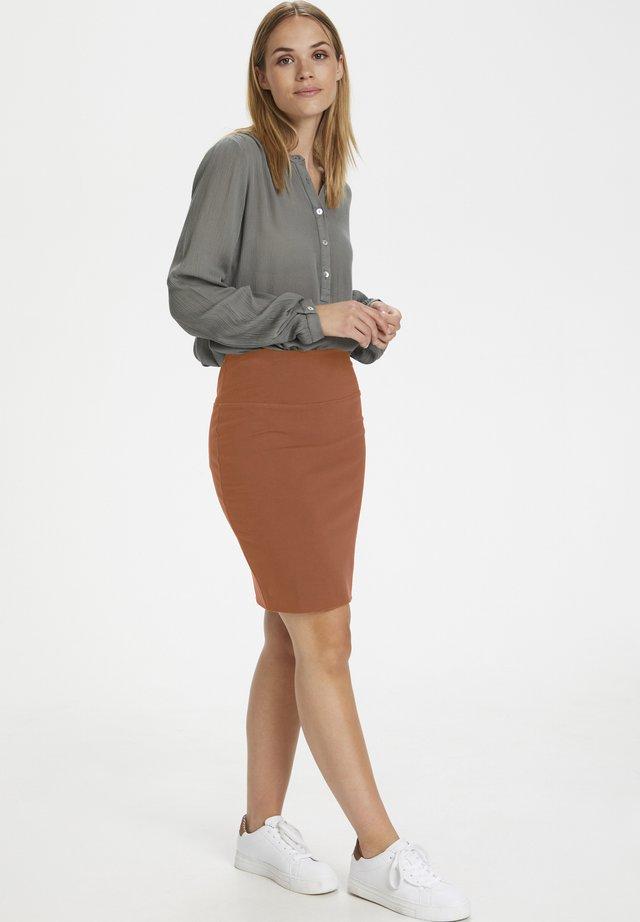 PENNY SKIRT - Pencil skirt - sierra