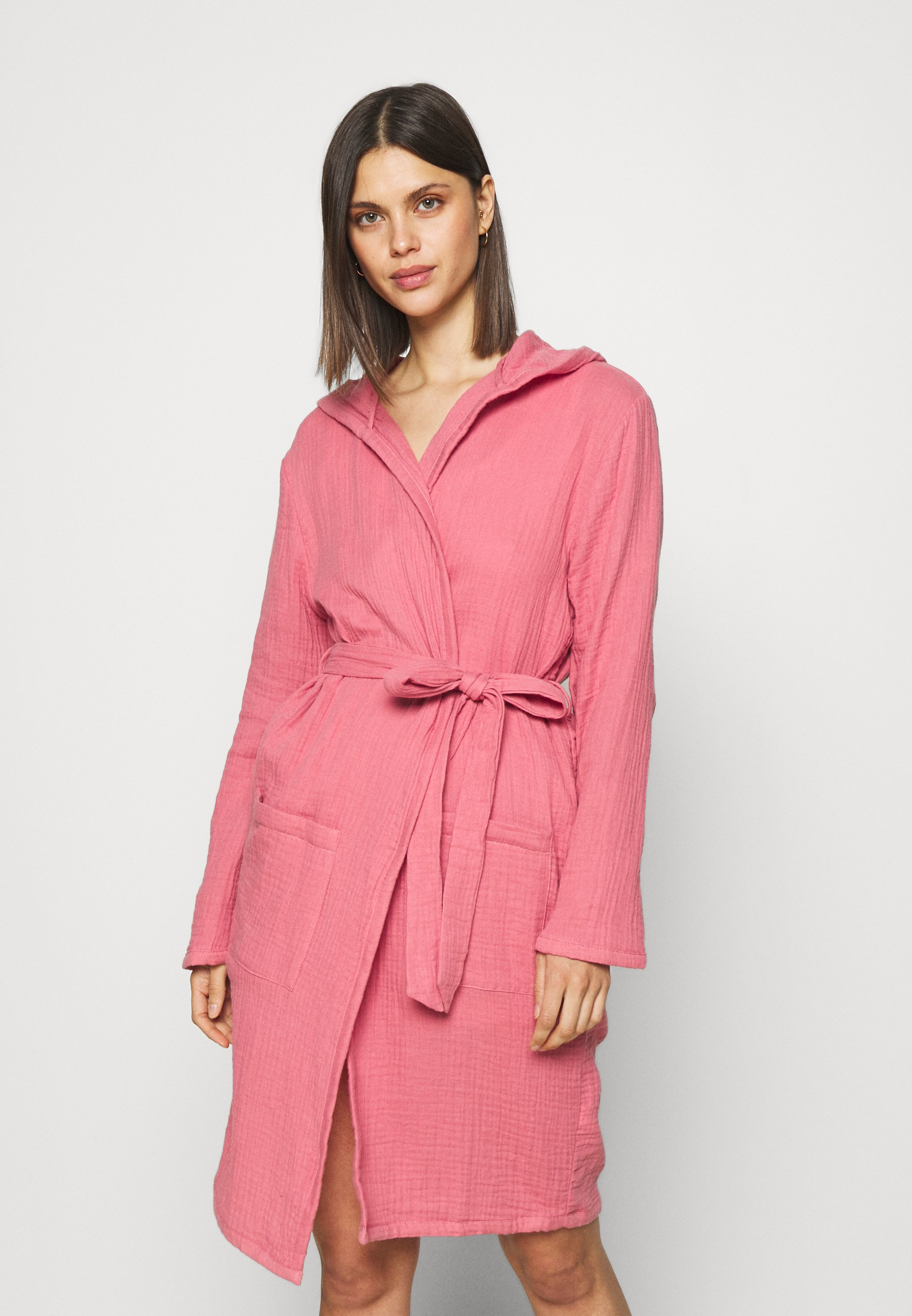 Donna MUSLIN HOOD GOWN - Accappatoio