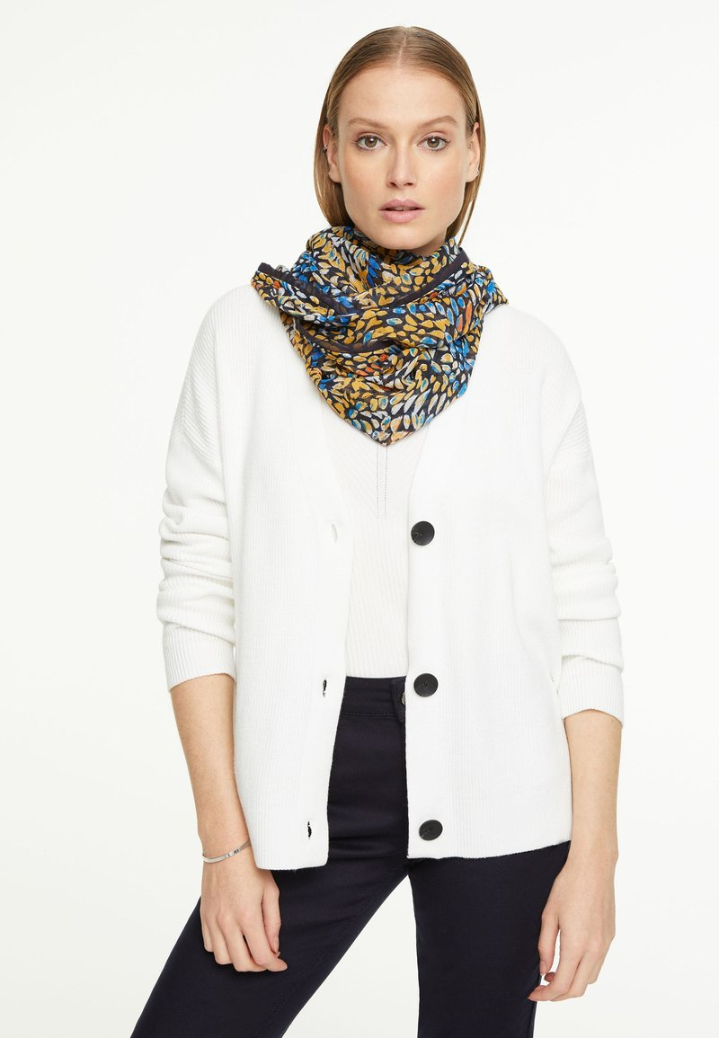 comma - Snood - yellow colorful dots