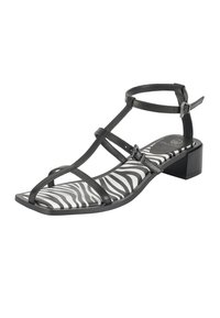 Ekonika - Sandals - black zebra - 2