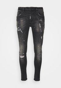 Alessandro Zavetti - BENZIO - Slim fit jeans - black wash - 3