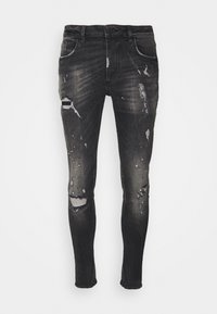 BENZIO - Slim fit jeans - black wash