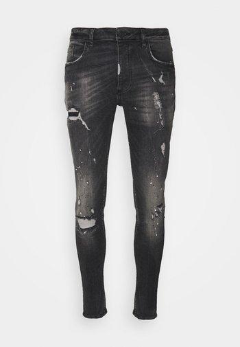 BENZIO - Jeans slim fit - black wash