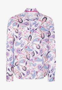 Eterna - MODERN CLASSIC - Button-down blouse - blue/pink/white - 3