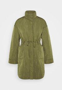YAS - YASWENNA QUILTED  - Short coat - khaki - 7