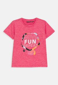 Color Kids - FRONT - Print T-shirt - morning glory - 0