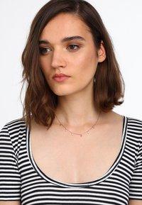 Orelia - MULTI DROP NECKLACE - Collar - rose gold-coloured - 1