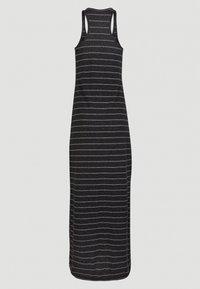 O'Neill - Vestito lungo - black with white - 14