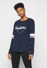 Hollister Co. - Long sleeved top - navy - 0