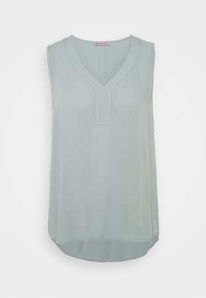 V Neck top - Blusa - dark blue