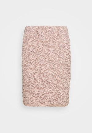 Pencil skirt - vintage powder