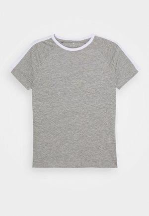 NKMVASTI - T-shirt print - grey melange