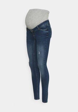 MLHAMPSHIRE DESTROYED - Jeans slim fit - dark blue denim