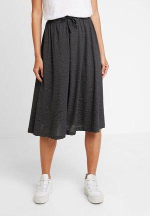 RENITA - A-line skirt - black
