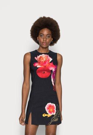 VEST LIPS BY CHRISTIAN LACROIX - Sukienka letnia - black