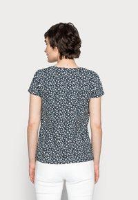 Springfield - ABULLONAD - Print T-shirt - medium blue - 2